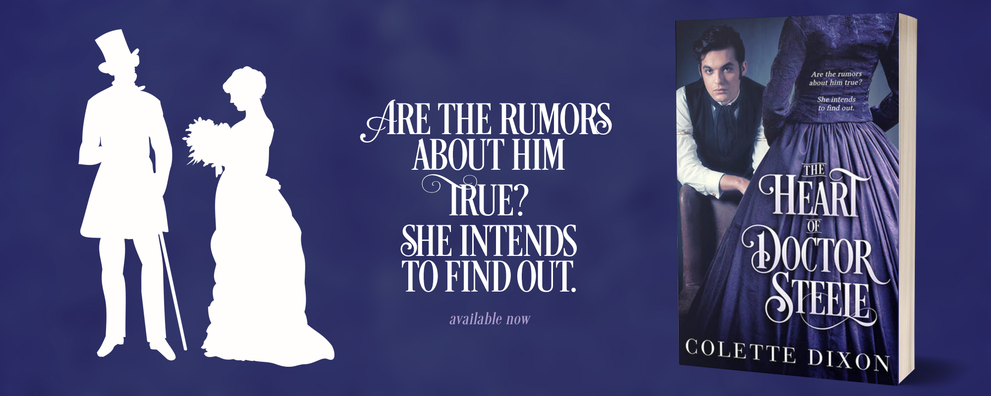 The Heart of Doctor Steele by Colette Dixon, available now