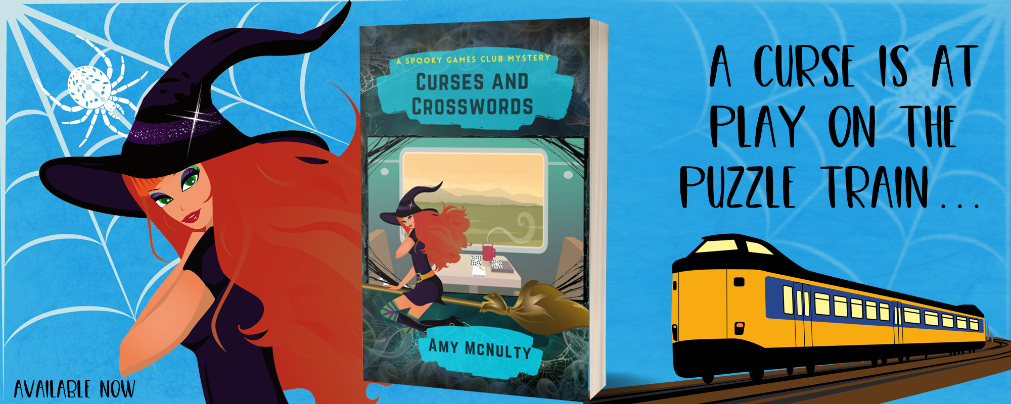 Curses and Crosswords by Amy McNulty, available now